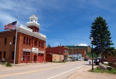 Downtown Victor, Colorado royalty free stock images