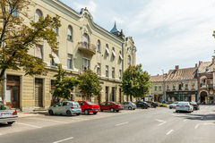 Downtown View Of Debrecen Stock Image
