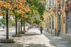 Downtown View Of Piac Utca Royalty Free Stock Photos