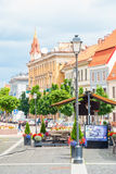 Downtown of Vilnius, Lithuania Stock Image