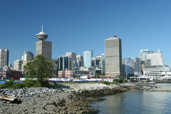 Downtown Waterfront Stock Photography