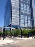 Downtown Winnipeg in a sun day Stock Photos