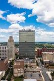 Downtown Winston-Salem. North Carolina stock image