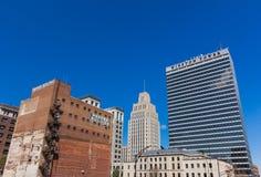Downtown Winston-Salem. North Carolina royalty free stock photography