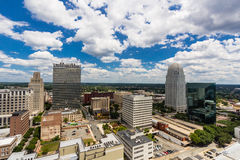 Downtown Winston-Salem Stock Image