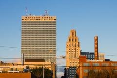 Downtown Winston-Salem. North Carolina at dawn Stock Photo