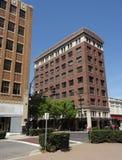 Downtown Winston-Salem, North Carolina. (NC) on a quiet Sunday morning Stock Images