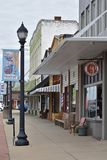 Downtown Woodruff SC USA is pictured stock images