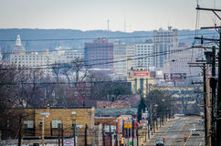 Downtown Youngstown Stock Photography