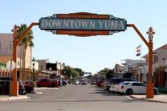Free Downtown Yuma, Arizona Gateway Of The Great Southwest Stock Photos - 170844723