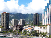 DowntownHonolulu Image stock