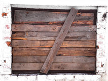 Downtrodden window Royalty Free Stock Images