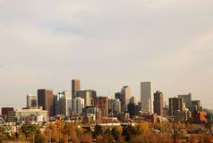 Downttown Denver. A city scape of down town Denver royalty free stock photo
