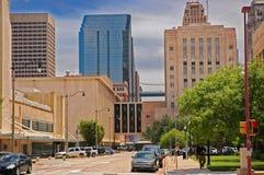 Downtwon di Città di Oklahoma Fotografia Stock Libera da Diritti