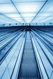 Downward escalator Royalty Free Stock Photos
