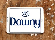 Downy λογότυπο εμπορικών σημάτων στοκ φωτογραφία