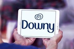 Downy λογότυπο εμπορικών σημάτων στοκ εικόνες με δικαίωμα ελεύθερης χρήσης