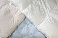 Downy blankets Royalty Free Stock Images