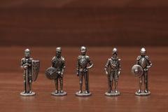 Dowodzeni żołnierze - dzieciństwo Zdjęcie Stock