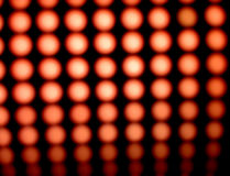 Dowodzeni czerwone światła Fotografia Stock