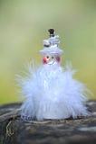 Dowodzeni płatki śniegu dla Bożenarodzeniowej dekoraci Fotografia Stock
