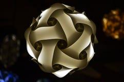 DOWODZONA papierowa lampa Zdjęcia Royalty Free