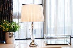 Dowodzona stołowa lampa Obraz Royalty Free