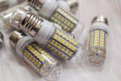 DOWODZONE oświetleniowe lampy fotografia stock
