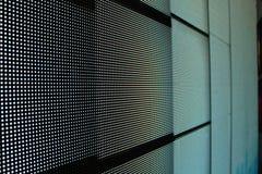 Dowodzone parawanowe szarość - cegły fotografia stock