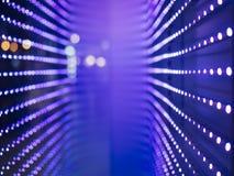 Dowodzony światło wzoru technologii abstrakta tło Obrazy Royalty Free