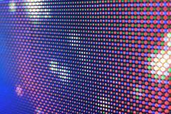 DOWODZONY ekran - RGB diody zdjęcie stock