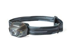 DOWODZONY headlamp odizolowywający na bielu Fotografia Stock