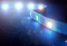 Dowodzony lampasa światło Obraz Stock