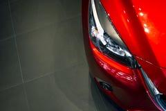Dowodzony reflektoru samochód dla klientów Obraz Stock