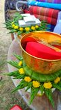 Dowry for bride in Northeast of Thailand Royalty Free Stock Images