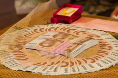 Dowry Marriage in Thailand Stock Photography