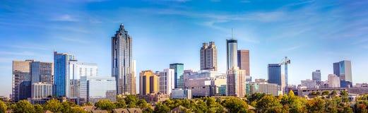 Dowtown Atlanta Gruzja linia horyzontu
