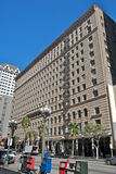 Dowtown Los Angeles. Buildings during a sunny day Royalty Free Stock Photography
