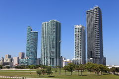 Dowtown Miami Images libres de droits