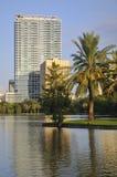 Dowtown Orlando Buildings Stock Image
