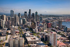 Dowtown Seattle Fotografia de Stock Royalty Free