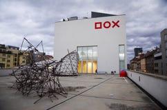 DOX-Galerie - Prag Lizenzfreie Stockfotos