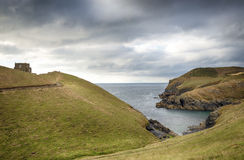 Doyden Castle at Port Quin Royalty Free Stock Photos