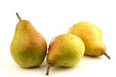 Doyenne du Comice pears Royalty Free Stock Photo