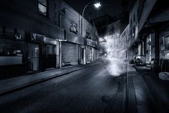 Doyers Street By Night Stock Images