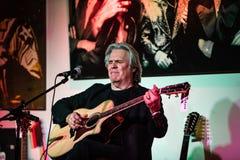 Doyle Dykes 1 mostra do feriado do homem no centro de música do ` s de Jim em Tustin, CA fotografia de stock royalty free