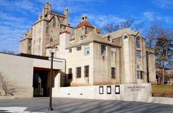 Doylestown, PA: Het Mercer Museum Stock Fotografie