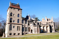 Doylestown, PA: Historic Fonthill Mansion Stock Photos