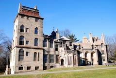 Doylestown, PA: Historisch Herenhuis Fonthill stock foto's