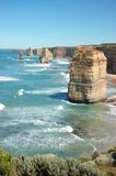 Doze apóstolos, Austrália Fotografia de Stock